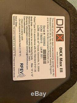 DKX Armor Level III Dyneema Lightweight Plates