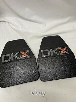 DKX Max III 10x12 Swimmer Cut Buoyant Level III+ Body Armor Plates