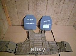 Eagle plate carrier with plates and soft armor x-large