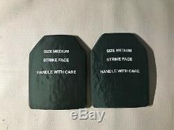 Esapi Plates Size Med Level III Body Armor