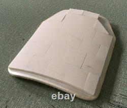 Expanded coverage ballistic plate body armor Level III+ level 3+ 10x12 ceramic