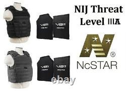 Expert Plate Carrier M-2XL Adjustable Includes (2) 11x14 LVL IIIA Soft Panels