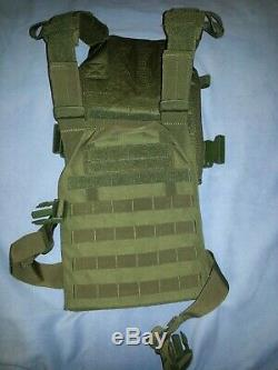 External body armor level 3 plate carrier and plates