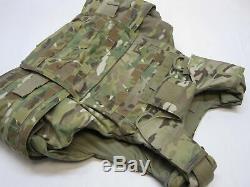 Gen 3 Ocp Body Armor Vest Plate Carrier Level Iii-a Quick Release Multicam Small