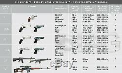Green lvl III 10x12 ballistic plate body armor bullet proof plate sapi