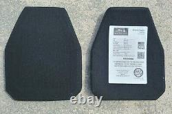 HESCO 3810 8x10 Level III+ 3+ NEW Special Threat Plate SET of TWO, December 2020