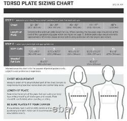 Hesco 3810 Level III+ Ceramic Plate Set(Qty. 2 Plates) SAPI Small