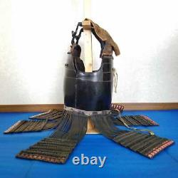 Japanese Antique Samurai armor Edo Era Three-piece body used