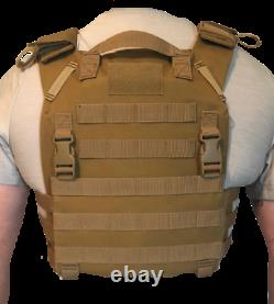 Level 3 Body Armor with minimalist Plate Carrier