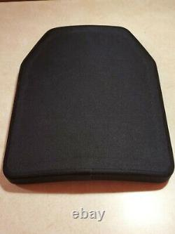 Level 3(+) Ceramic/UHMWPE lightweight plate. Only 2.77lbs per plate