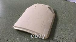 Level 3+ Expanded ceramic ballistic plate body armor -5.2lbs w anti spall plate