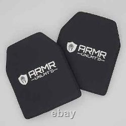 Level 3 Stand Alone Plate Body Armor Plate 10 x 12 Lightweight-3.2 pounds