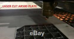 Level III AR500 Steel Body Armor Curved 4pc set 10x12 + 6x8 Coated Quik Ship