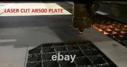 Level III AR500 Steel Body Armor Pair 6x8 Curved Plate Coated Quick Ship