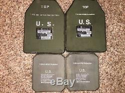 Level III Body Armor US Army IOTV Improved Outer Tactical Vest with SAPI Plates