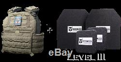 Level III Testudo Gen 2 Package (by AR500 Armor) Olive Drab