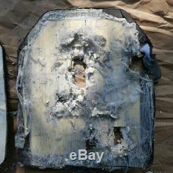 Level III+ stand alone ballistic plates, body armor 10x12 4.6 lbs Ceramic