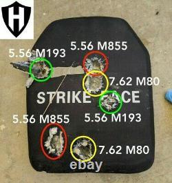 Level IV body armor, ballistic plates, level 4 10x12 ceramic 5.5lbs