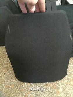 Lvl III 10x12 ballistic plate body armor bullet proof plate sapi