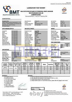 MILITECH Bulletproof Plate NIJ III+/NIJ 0101.07RF2 Ballistic Alumina Armor Panel