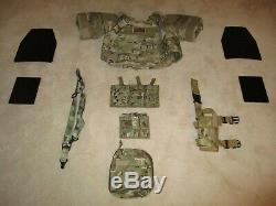 MULTICAM BODY ARMOR PLATE CARRIER PACKAGE/WITH ARMOR AND ACC. Tier 1 Delta SEALS