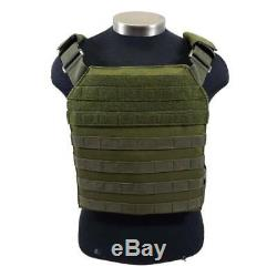 MidWest AR500 10x12 Level III Body Armor Base Coat MOLLE Plate Carrier OD Green