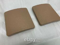 Msap 6x6 Tan Side Plates! Devgru Socom Jasoc Usmc Rangers Seal