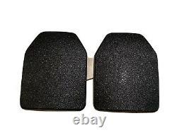 Multi Curve Body Armor Ceramic Silicon Carbide Medium L SAPI 10x12 9.5x12 10x13