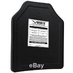 NcStar BPC1012 10-Inch x 12-Inch VISM PE Ballistic Panel, Shooters Cut
