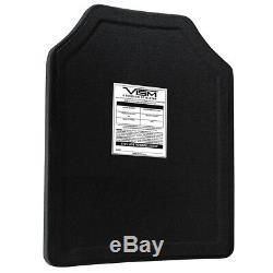 NcStar BPC1114 11-Inch x 14-Inch VISM Hard PE Ballistic Panel, Shooters Cut