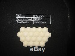 New Black Combat Tactical Soft Bullet proof vest IIIA+2PCS III ceramic plates