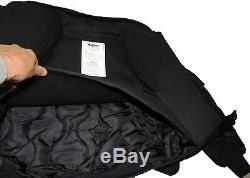 New Model Israeli Personal Body Armor III-A(3A) Bulletproof Flight Jacket Black