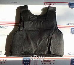 OSFS NIJ III-A Concealable Bulletproof Vest Body Armor Size L, NIJ III A IIIA