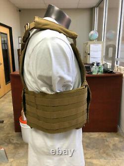Oversize Bullet Proof Vest With NIJ Level III+ 11 x 14 Front & Back Plates