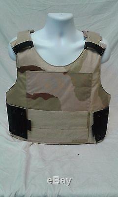 PACA Low Viz XLR Desert Camo Concealed Body Armor Vest 263A-3 DEVGRU LVBAV III-A