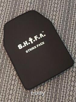 Pair SHTF Armor 11x14 Level 3 stand alone UHMWPE inserts not ar500 IN STOCK body