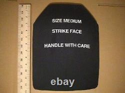 Paraclete strike face ballistic plate size medium body armor