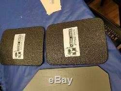 Patriot Armor Steel Ballistic Plates Level III Voodoo Tactical Vest