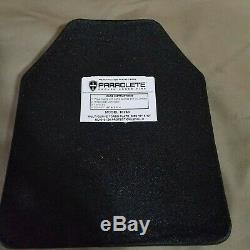 Point Blank Body Armor New 10x12 Level 3 Sa 10260 Shooters Cut Lightweight