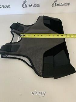 Protective Products Level 3 Ballistic Body Armor Bullet Proof Vest Small Med B-5