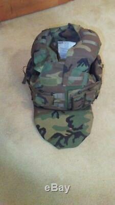 RARE SWAT TEAM 360 Protection Body Armor Bulletproof/Resistance Vest Level III