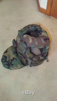 RARE SWAT TEAM / POLICE RIFLE Body Armor Bullet Resistance Vest Level III