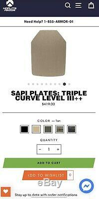 SAPI Plates Triple Curve Level III++ Set