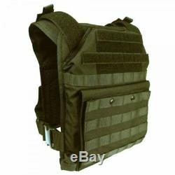 SecPro Spartan Tactical Plate Carrier One Size Fits All