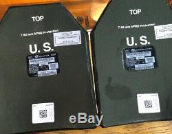 Set Of Ballistic Armor Plates Level III SAPI 7.62 SizeX-Large 11x14