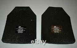 Set of 2 Ballistic Armor Plates SAPI 7.62 SAPI Large Plates Front And Back