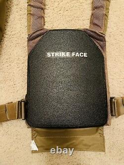 Shellback Plate Carrier With Ceramic Plates