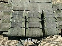 Shellback Tactical Banshee, AR 500 Level III Plates, HSGI Taco Magazine Pouches
