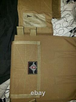 Shellback Tactical Banshee Plate Carrier WITH ar500 plates &level 3a soft armor