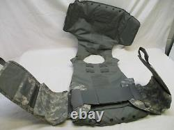 Small Bulletproof Vest Acu Digital Body Armor Plate Carrier Level Iii-a Inserts